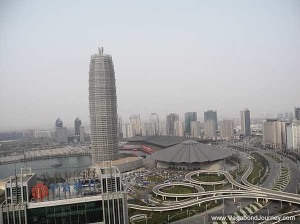 Le centre des affaires de Zhengdong est réellement un quartier financier taillé pour un rayonnement mondial.