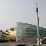 Le musée de Zhengzhou - il ressemble effectivement à un œuf de Paques, mais il est chouette