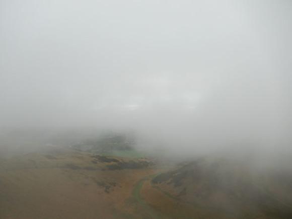 Édimbourg Quand t'es dans le brouillard, laisse toi porter par le hasard.