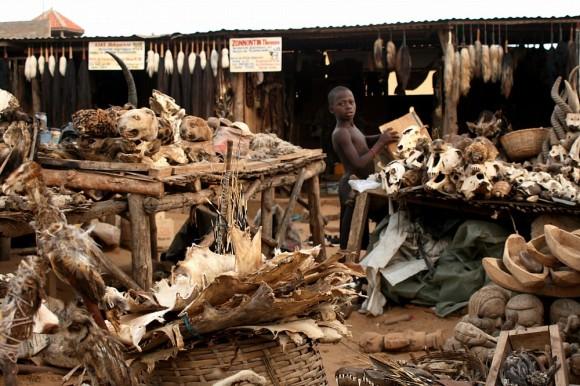 marché aux fétiches de Lomé